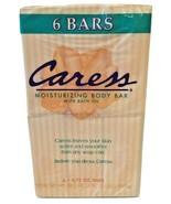 VTG 1997 Caress Moisturizing Body Bar With Bath Oil Original Peach 6 Soa... - $189.99