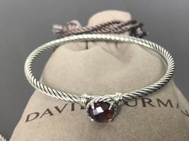 $350 DAVID YURMAN Women's 3mm Chatelaine Bracelet with Garnet - $199.99