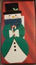 Hallmark Snowman Christmas Card12 cards 13 Envelopes (LOC ECC) - $12.19