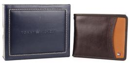 Tommy Hilfiger Men's Premium Leather Credit Card ID Wallet Passcase 31TL220014 image 5