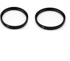 2X UV Filters For Sony HDR-CX550V HDR-CX550VE HDR-XR550VE HDR-XR550E HDR... - $10.37