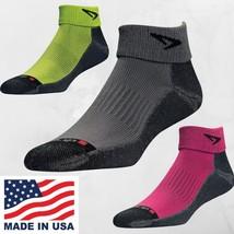 Drymax Lite Trail Run 1/4 Crew Socks - 3-Pair Pk - All Sizes - Gray Gree... - $826,33 MXN