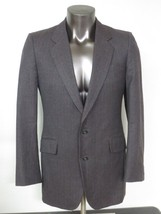 Sasson New York Paris Jacket 2 Button 42L Gray Pin Stripe Wool Lined Coa... - $13.06
