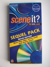 Scene It: Sequel Pack (Movie Edition): More Film Clips, Trivia Cards and Movie S - $6.92