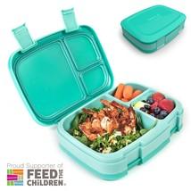 Food Storage Container Leak-Proof Versatile 4-Compartment Bento-Style Lu... - $39.25