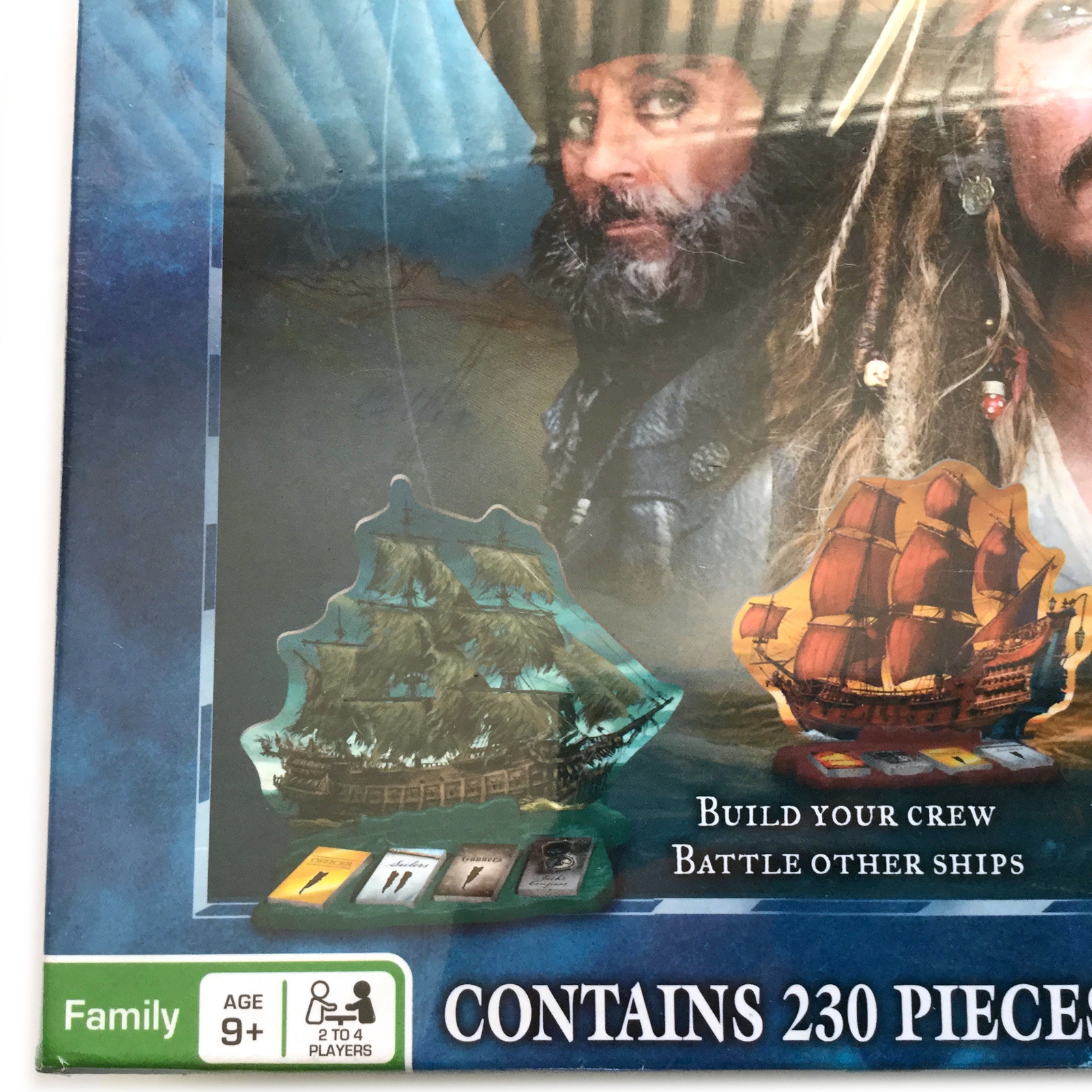 Pirates Of The Caribbean Master Of The Seas Strategy Game Family Game