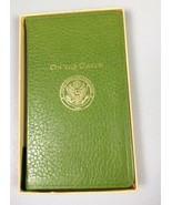 On the Green golf journal leather book USGA Italy golfing gift stocking ... - $54.07