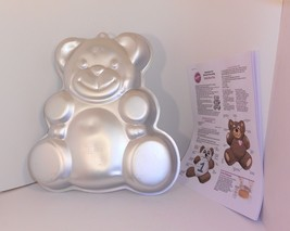 Wilton Huggable Teddy Bear Cake Pan First Birthday Baby Shower 2105-4943... - $12.86