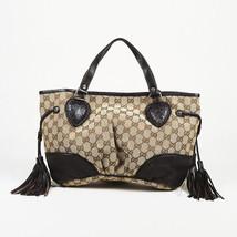 """Gucci GG Canvas Small """"Tribeca"""" Tote Bag - $905.00"""