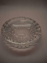 WATERFORD Crystal ASHTRAY Vintage COLLEEN Pattern 3 INDENTS Diamond SWIR... - $29.69