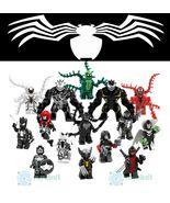 15Pcs Infect Venom Carnage Mania Riot X-23 Anti-Venom Marvel Comics Mini... - $34.99