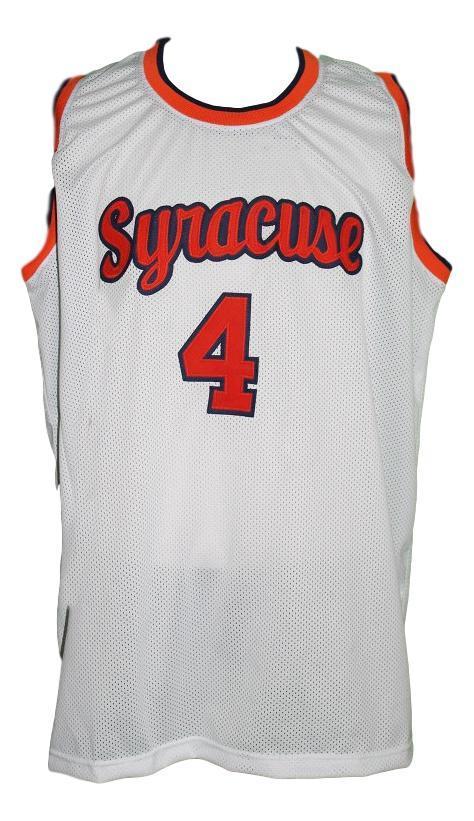 Ron seikaly college basketball jersey white   1