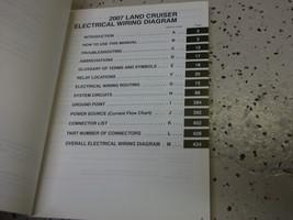 2007 Toyota LAND CRUISER Electrical Wiring Diagram Service Shop Repair Manual  image 2