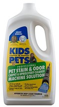 KIDS 'N' PETS - Pet Stain & Odor - Carpet & Upholstery Cleaner Machine Solution