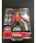 McFarlane Toys Jacques Plante Series 28 Action Figure Canadians HOF Mont... - $98.95