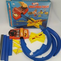 Vintage 1978 Mattel Hot Wheels Criss Cross Crash Set with Box Incomplete - $46.71