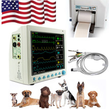 Veterinary Vital Signs ICU Patient Monitor 6 Parameter with Printer 12.1... - $543.51