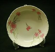 """Antique Haviland Limoges France 5"""" Berry Fruit Bowl Pink Cornflower Scal... - $8.90"""