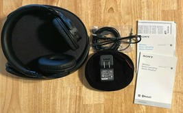 SONY MDR-ZX750BN Wireless Noise Canceling Headphones w/ Case & Accessories - $89.09
