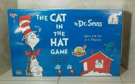 Dr. Seuss The Cat In The Hat Game Beginner Games 1996 Fun In a Box Sealed - $14.80