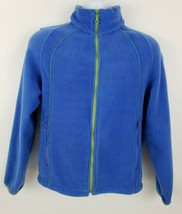 Tsunami Blue Fleece Women's Jacket Size M 25 21.5 - $26.72