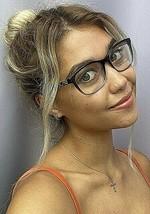 New BURBERRY B 4222 9935 53mm Clear Blue Women's Eyeglasses Frame - $149.99