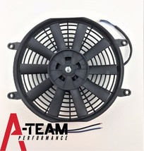 "A-Team Performance 10"" Electric Reversible Radiator Cooling Fan 12V 850CFM image 4"