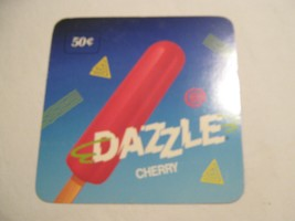 """Dazzle Ice Cream  Sign , 6"""" X 6""""  , Pabst Blue Ribbon 3""""X3"""" Advertisment - $1.99"""