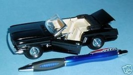 Black '65 Ford Mustang Special Edition Diecast & Pen - MIB - $30.91