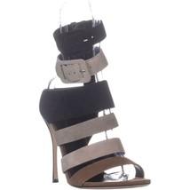 Sergio Rossi Zebra Strappy Sandals, Royal Multi, 9.5 US / 39.5 EU - $471.35