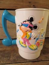 Walt Disney World On Ice Plastica 3d Coppa Vintage Topolino - $6.24