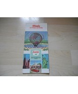 Old Vintage 1964 SINCLAIR FOLDING ROAD STREET MAP Illinois Chicago Vicinity - $19.79