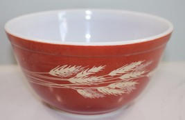 Pyrex Autumn Harvest Wheat 1.5 Mixing Bowl 402 - $12.55