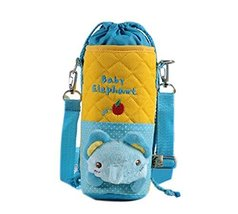 Lovely Kindergarten Blue Elephant Bottle Messenger Bag (228CM)