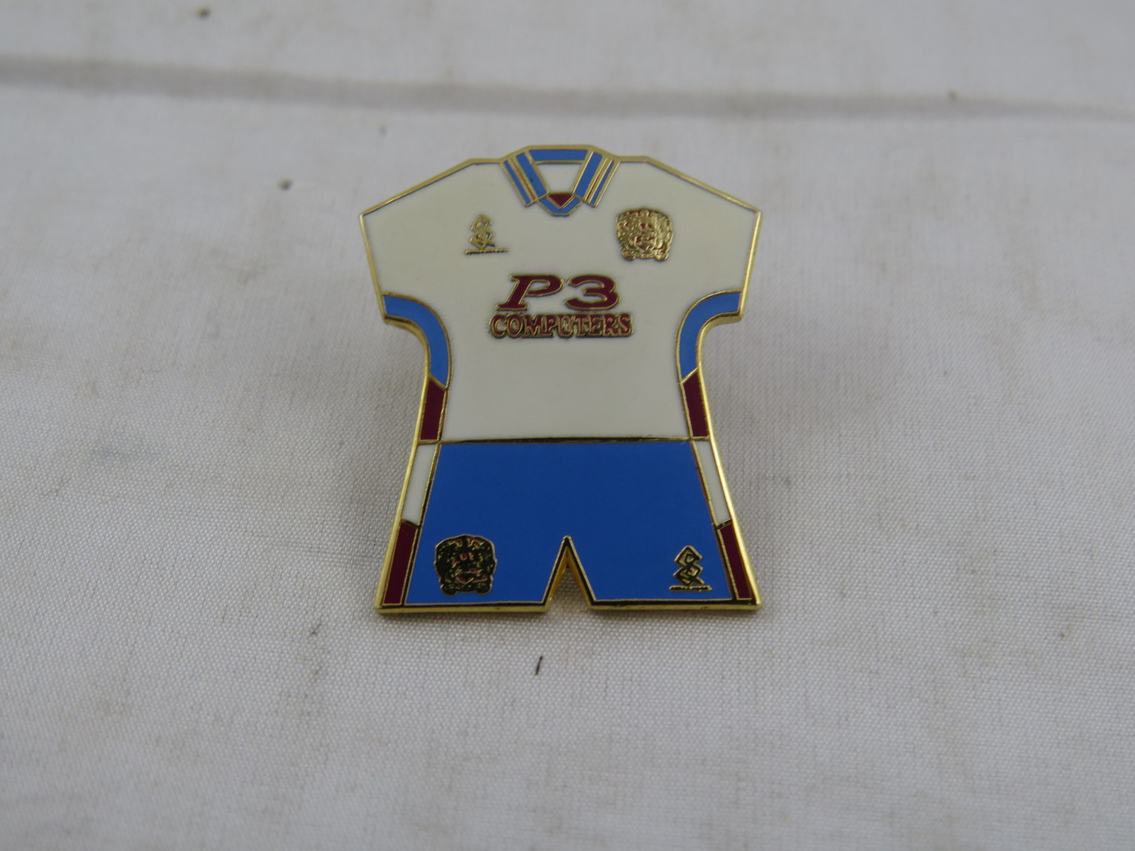 Burnely Away Kit Pin - 1999 Uniform - Stamped Pin