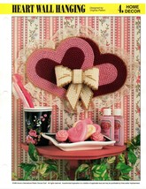 Plastic Canvas Pattern - Heart Wall Hanging - Annie's Home Decor - $1.48