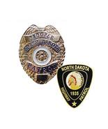 North Dakota Highway Patrol Badge & Patch Lapel Pins - $9.85