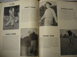 1951 Ryder Cup Pinehurst Program and Book of Golf by the PGA of America HC image 6