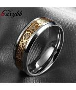 GAXYBB Fashionable Dragon Theme Men's / Women's/ Unisex Ring - Stainless... - $8.25