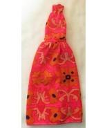 Vintage Barbie Best Buy #8680 Halter Dress Steffie Material Variation  2... - $105.00