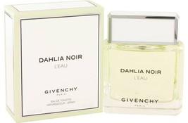 Givenchy Dahlia Noir L'eau Perfume 3.0 Oz Eau De Toilette Spray image 4