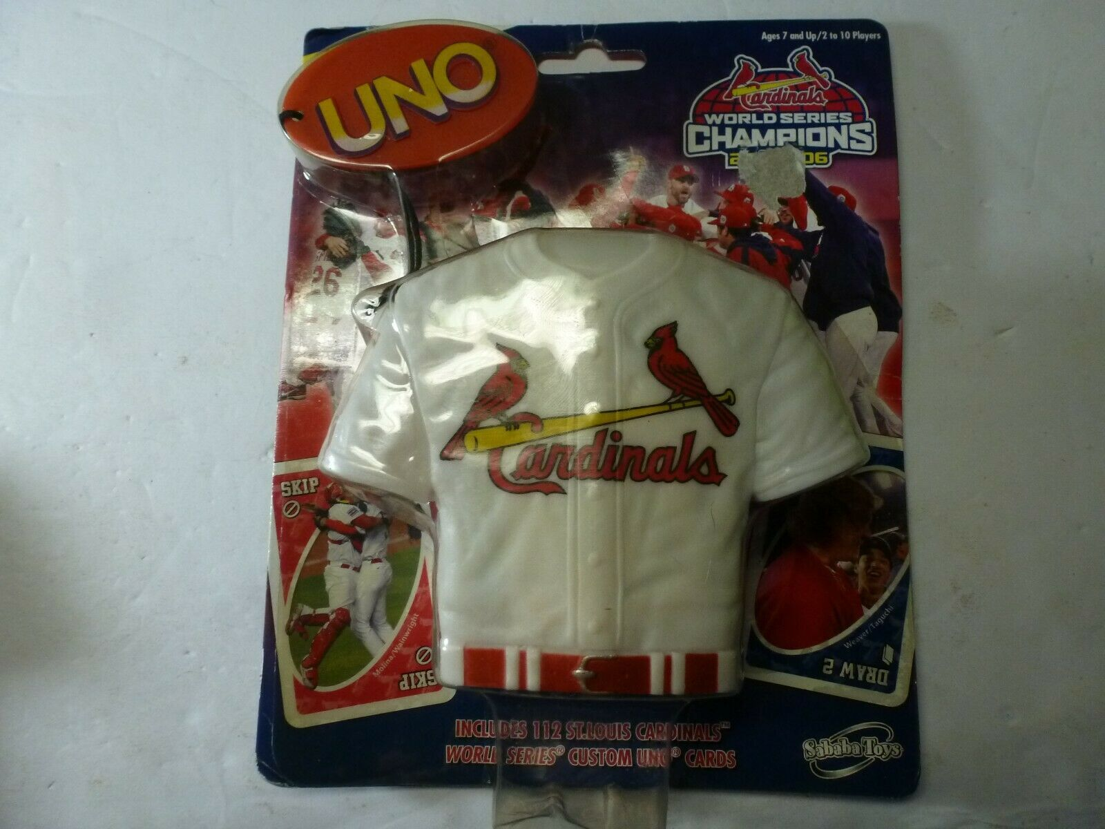 St Louis Cardinals World Series Champs 2006 Jersey UNO Card Game - $16.72