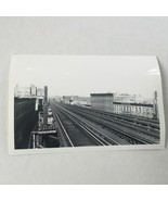 1940 Fulton Street Line Looking Saratoga Ave Photo New York Subway  - $19.79