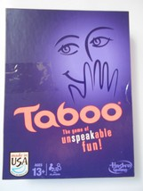 Hasbro Taboo Party Game Cards 4 Players Ages 13+  Family Cards Fun - $22.99