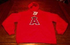 Anaheim Angels Mlb Baseball Hoodie Sweatshirt Medium New w/ Tag - $54.45