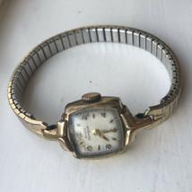 Vintage Girard Perregaux Ladies Watch 10K Gold Filled Stretch Band Wind Up - $24.74