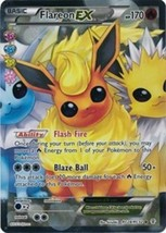 Pokemon Flareon EX RC28/RC32 Generations Near Mint Holo Ultra Rare Full ... - $3.99