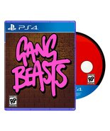 Gang Beasts PS4 Sony Playstation 4 Reversible Cover / Random Disc Region... - $119.99
