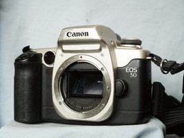 Canon EOS 50 Elan II  Professional 35mm Metal SLR Camera   -Nice- - $45.00
