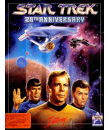 """Star Trek: 25th Anniversary, (for IBM,Tandy,DOS,or compatibles), on 3.5""""... - $14.99"""